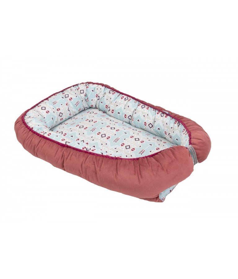 Image of   babymatex Babynest Soft - Rød